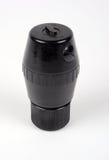 British No69 bakelite grenade. Unusual WWII British No69 bakelite fragmentation offensive hand grenade Royalty Free Stock Image
