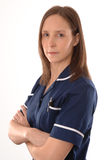 A British Nurse Stock Photo