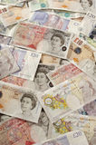 British Paper Currency Stock Photography