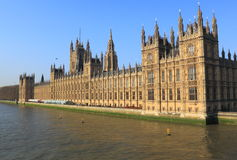 British Parliament Building Stock Image