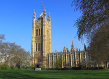 British Parliament Building. In London, England Royalty Free Stock Images