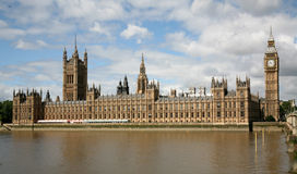 British Parliament Buildings Royalty Free Stock Photos