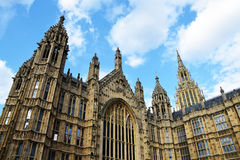 British Parliament. View from below Royalty Free Stock Photography