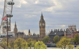 British Parliament in Westminster, London Stock Image