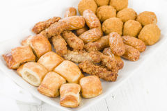 British Party Food Selection Royalty Free Stock Photos