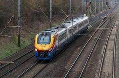 British passenger train Royalty Free Stock Photography