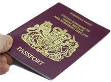 British Passport Stock Photos