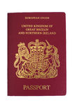 British passport Stock Image