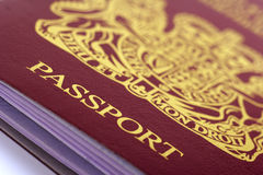 British passport Stock Images