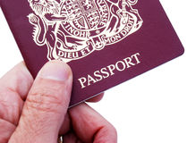 British passport Royalty Free Stock Photos