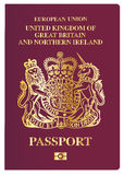 British Passport Royalty Free Stock Images