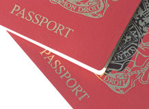 British passports Royalty Free Stock Image