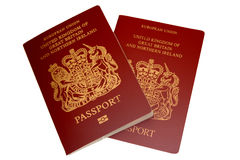 British Passports Royalty Free Stock Photos