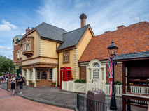 British Pavilion, World Showcase, Epcot Stock Photography