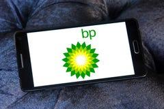 British petroleum bp logo Stock Photo