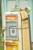 British Petroleum petrol pump. Stock Photos