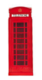 British phone booth Stock Image