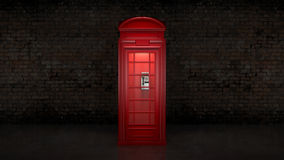 British Phone Booth in London Stock Images