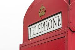 British Phone Booth Royalty Free Stock Photos