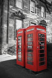 British phone boxes Royalty Free Stock Photography