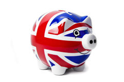 British Piggy Bank Royalty Free Stock Photos