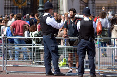 British police man stock photo