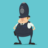 British police officer Stock Photography