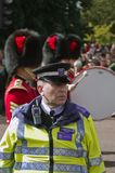 British Police Officer Royalty Free Stock Photo