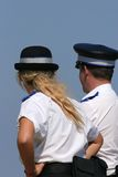 British Police Officers Stock Images