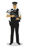 UK Policeman - Armed anti-terrorist Stock Photos