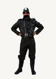 British Policeman costume. Young man in British Policeman costume Stock Photos