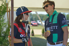 British Polo Day 2014 in Moscow Stock Photography