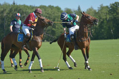 British Polo Day in Moscow Stock Image