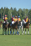 British Polo Day in Moscow Royalty Free Stock Image