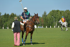 British Polo Day in Moscow Stock Images