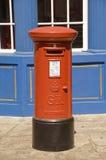 British Post Box Stock Photo