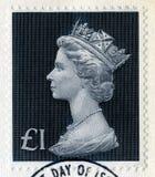 British Postage Stamp. UNITED KINGDOM - CIRCA 1972: A vintage British postage stamp, circa 1972 Royalty Free Stock Photography