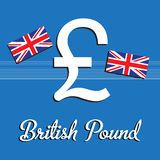 British pound Royalty Free Stock Photos