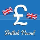 British pound Royalty Free Stock Photos