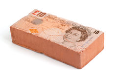 British Pound brick Royalty Free Stock Images