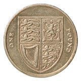 British pound coin Stock Photography