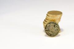 British Pound. Coin Pile photo Stock Photos
