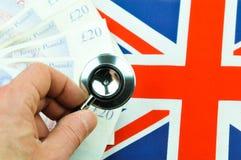 British pound concept Royalty Free Stock Photos