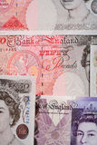 British pound macro Royalty Free Stock Photography