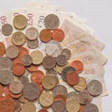 British Pound. S currency of the UK Stock Photography
