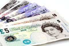 British pounds. Stock Photography