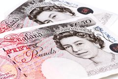 British pounds. Royalty Free Stock Photography