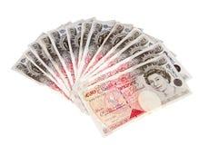 British pounds. Stock Image