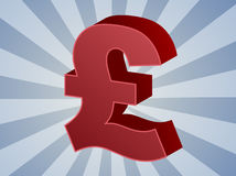 British pounds Royalty Free Stock Images
