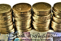 British Pounds Royalty Free Stock Photos